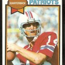 New England Patriots Steve Grogan 1979 Topps Football Card # 95 ex