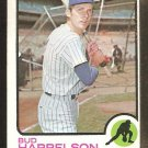 New York Mets Bud Harrelson 1973 Topps Baseball Card # 223 good