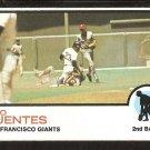 San Francisco Giants Tito Fuentes 1973 Topps Baseball Card # 236 ex