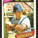 Los Angeles Dodgers Steve Garvey 1980 Topps Baseball Card # 290 nr mt