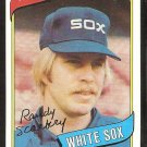 Chicago White Sox Randy Scarbery 1980 Topps Baseball Card # 291 nr mt