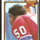 New England Patriots Sam Hunt 1979 Topps Football Card # 181 ex