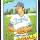 Kansas City Royals Larry Gura 1980 Topps Baseball Card # 295 nr mt