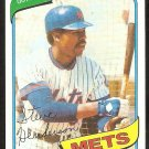 New York Mets Steve Henderson 1980 Topps Baseball Card # 299 nr mt