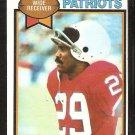 New England Patriots Harold Jackson 1979 Topps Football Card # 321 ex