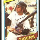 Detroit Tigers Steve Kemp 1980 Topps Baseball Card # 315 nr mt