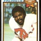 New England Patriots Tony McGee 1979 Topps Football Card # 441 vg/ex