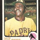 San Diego Padres Nate Colbert 1973 Topps Baseball Card # 340 ex