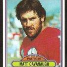 New England Patriots Matt Cavanaugh Rookie Card RC 1980 Topps Football Card # 99 ex/em