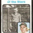 San Francisco Giants Chris Speier Boyhood Photo of the Stars 1973 Topps Baseball Card #345