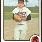 Baltimore Orioles Eddie Watt 1973 Topps Baseball Card # 362 good