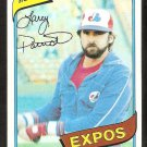 Montreal Expos Larry Parrish 1980 Topps Baseball Card # 345 nr mt
