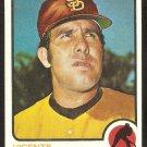 San Diego Padres Vicente Romo 1973 Topps Baseball Card # 381 vg