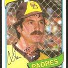 San Diego Padres Dan Briggs 1980 Topps Baseball Card # 352 nr mt