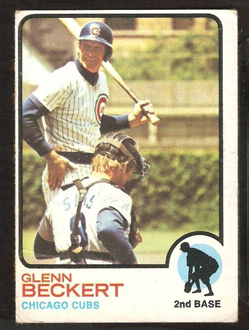 Chicago Cubs Glenn Beckert 1973 Topps Baseball Card # 440 good