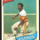 Houston Astros Cesar Cedeno 1980 Topps Baseball Card # 370 nr mt