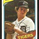 Detroit Tigers Dan Petry Rookie Card RC 1980 Topps Baseball Card # 373 nr mt