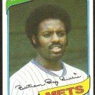 New York Mets Ray Burris 1980 Topps Baseball Card # 364 ex/nm