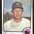 New York Yankees Hal Lanier 1973 Topps Baseball Card # 479