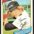 Chicago White Sox Kevin Bell 1980 Topps Baseball Card # 379 nr mt