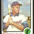 Texas Rangers Jeff Burroughs 1973 Topps Baseball Card # 489 vg