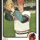 Cleveland Indians Ray Lamb 1973 Topps Baseball Card # 496 ex/nm