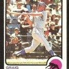 New York Yankees Graig Nettles 1973 Topps Baseball Card # 498 vg