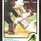 Cincinnati Reds Darrel Chaney 1973 Topps Baseball Card # 507 ex