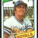 Kansas City Royals Pete LaCock 1980 Topps Baseball Card # 389 nr mt