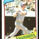 Seattle Mariners Dan Meyer 1980 Topps Baseball Card # 396 nr mt
