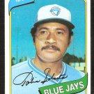 Toronto Blue Jays Tony Solaita 1980 Topps Baseball Card # 407 nr mt
