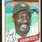 New York Yankees George Scott 1980 Topps Baseball Card # 414