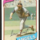 California Angels Dave Frost 1980 Topps Baseball Card # 423 ex/nm