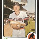 Detroit Tigers Joe Niekro 1973 Topps Baseball Card #585 nr mt