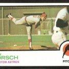 Houston Astros Ken Forsch 1973 Topps Baseball Card #589 nr mt