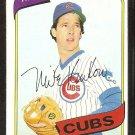 Chicago Cubs Mike Krukow 1980 Topps Baseball Card #431 nr mt