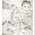 Boston Red Sox Ted Williams Jim Rice Mike Greenwell 1989 Pinup Photos
