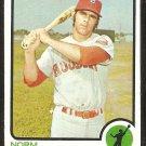 Houston Astros Norm Miller 1973 Topps Baseball Card # 637 nr mt