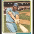 Milwaukee Brewers Dave May 1974 Topps Baseball Card # 12 vg