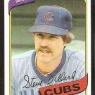 Chicago Cubs Steve Dillard 1980 Topps Baseball Card #452 nr mt