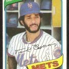 New York Mets Frank Taveras 1980 Topps Baseball Card # 456 ex/nm