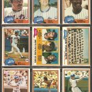 1981 Topps New York Mets Team Lot Mookie Wilson Lee Mazzilli Team Card Mike Scott Neil Allen C Swan