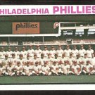 Philadelphia Phillies Team Card 1973 Topps Baseball Card # 536 nr mt