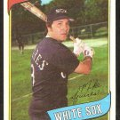 Chicago White Sox Mike Squires 1980 Topps Baseball Card # 466 nr mt