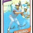 Minnesota Twins Hosken Powell 1980 Topps Baseball Card # 471 nr mt
