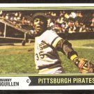 Pittsburgh Pirates Manny Sanguillen 1974 Topps Baseball Card # 28 vg
