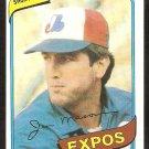 Montreal Expos Jim Mason 1980 Topps Baseball Card # 497 nr mt