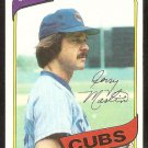 Chicaho Cubs Jerry Martin 1980 Topps Baseball Card # 493 ex