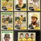 1981 Topps Pittsburgh Pirates Team Lot Willie Stargell Dave Parker Bert Blyleven T Pena Bill Madlock
