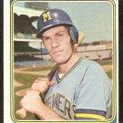 Milwaukee Brewers Bobby Heise 1974 Topps Baseball Card # 51 g/vg
